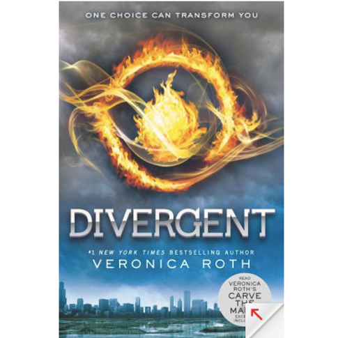 Divergent by Veronica Roth (Divergent Series #1)