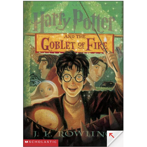 Harry Potter and the Goblet of Fire by J.K Rowling (Harry Potter #4)