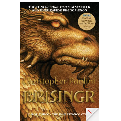 Brisinger by Christopher Paolini (Inheritance Cycle #3)
