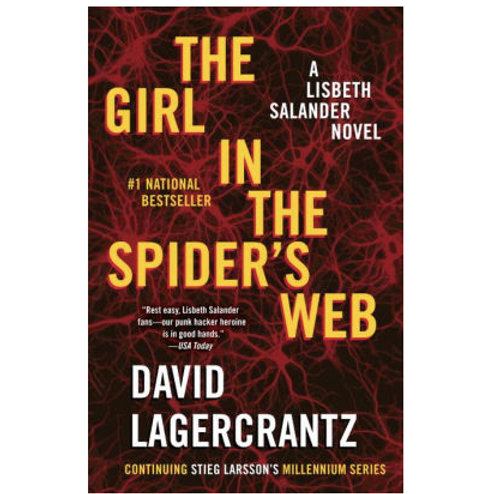 The Girl in the Spider's Web by Stieg Larsson (Millennium Series #4)