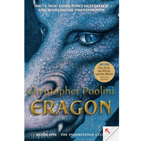 Eragon by Christopher Paolini	(Inheritance Cycle #1)