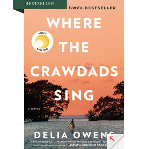Where The Crawdads Singby Delia Ownes