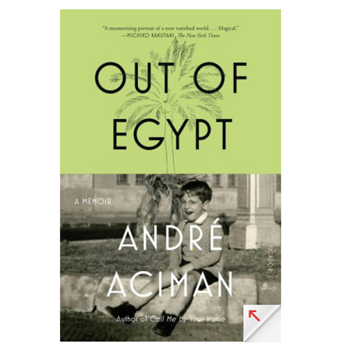 Out of Egypt by Andre Aciman