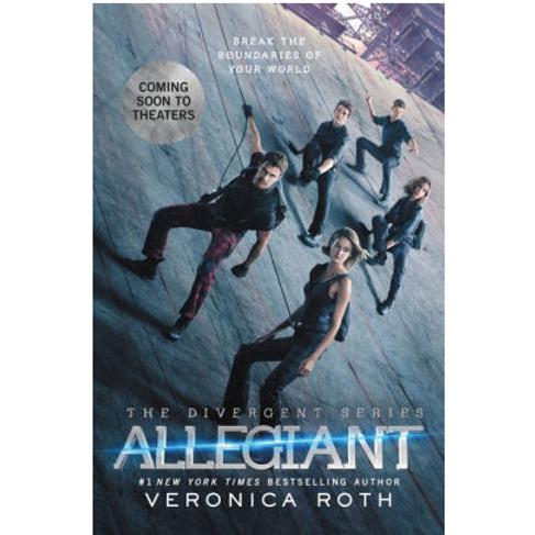 Allegiant by Veronica Roth (Divergent Series #3)