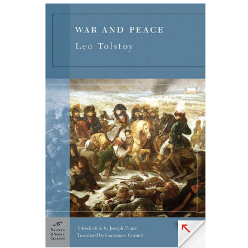 War and Peaceby Leo Tolstoy