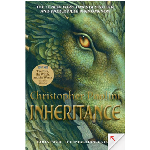 Inheritance by Christopher Paolini (Inheritance Cycle #4)
