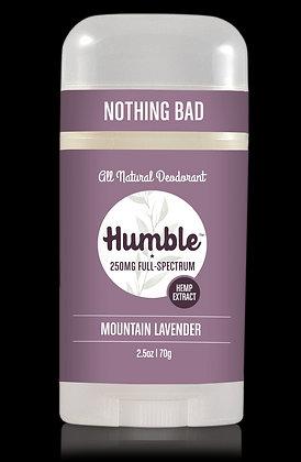 Humble Deodorant CBD Infused