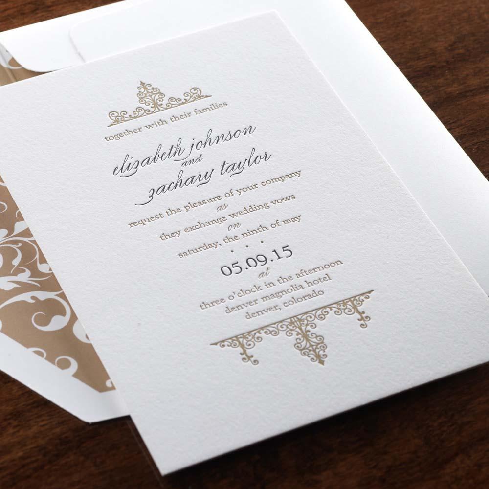 Letterpress Luxury