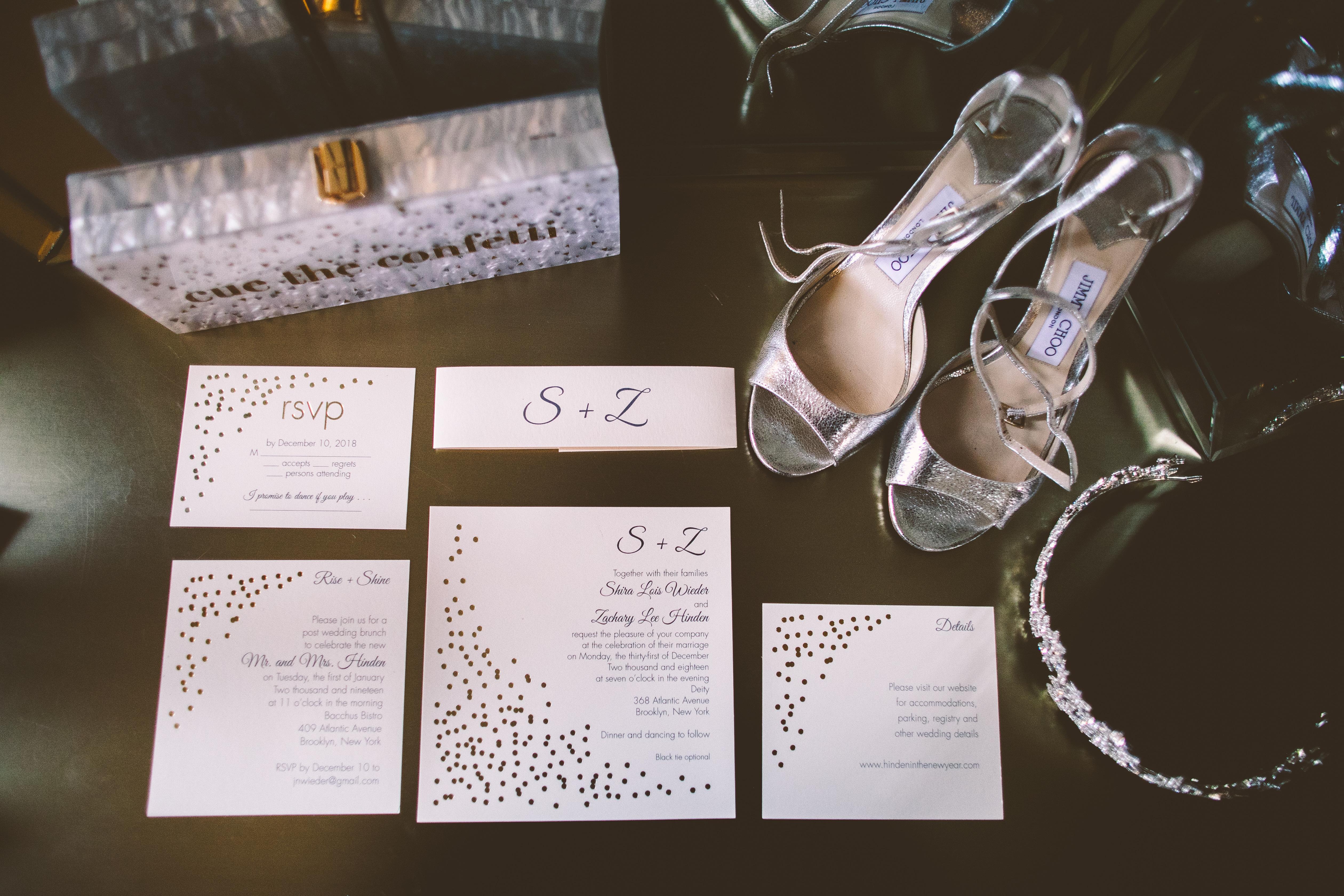 Glamorous NYE Wedding