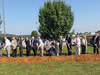 Monticello Wastewater Treatment Plant Groundbreaking