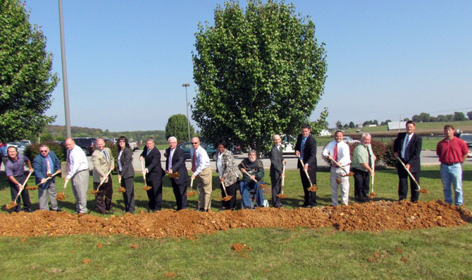 Monticello Wastewater Treatment Plant Groundbreaking