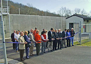 Ribbon Cutting for the City of Owingsville