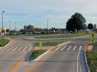 Alumni Drive Roadway Realignment Completed