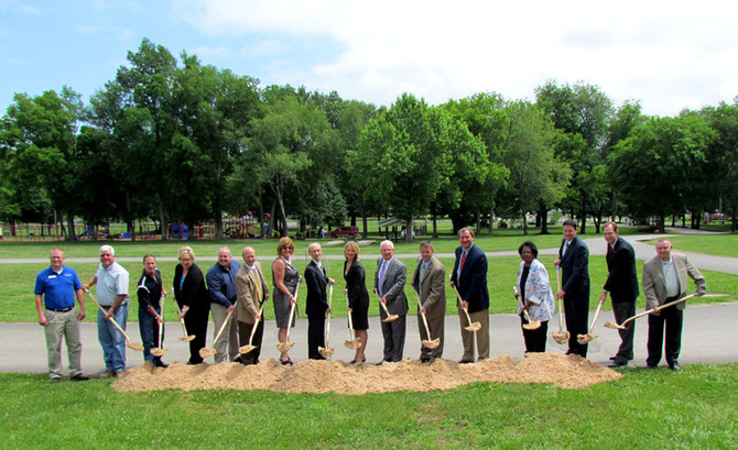 Monticello Water Treatment Plant Groundbreaking