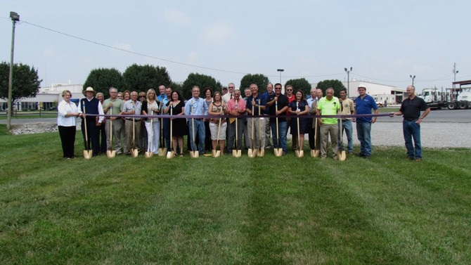Navitas Utility and Keystone Foods Natural Gas Groundbreaking