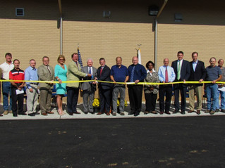 Monticello Water Treatment Plant Improvements Ribbon Cutting