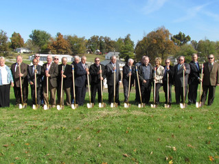 Groundbreaking for New Water Treatment Plant in McLean County
