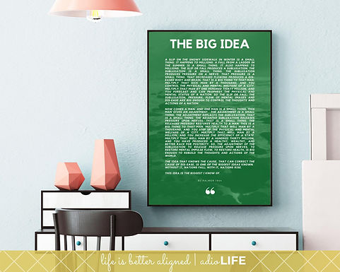 Big Idea: Chiropractic Poster