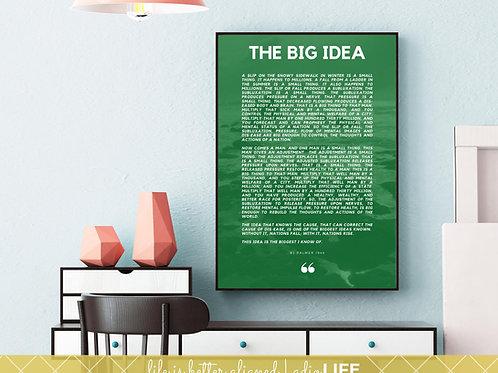 Big Idea: Chiropractic Poster