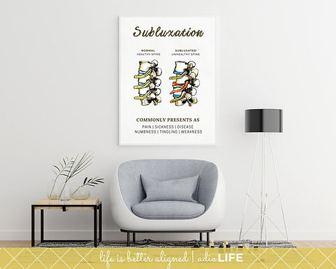 Spinal Subluxation Poster