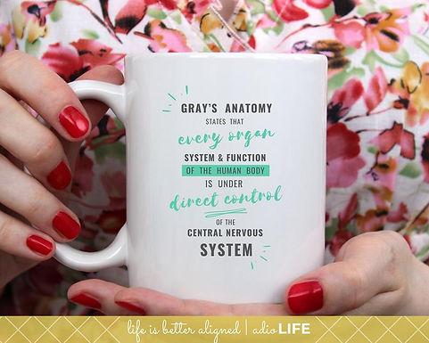 Gray's Anatomy CNS Mug
