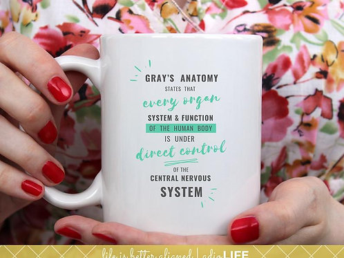 Gray's Anatomy CNS Mug