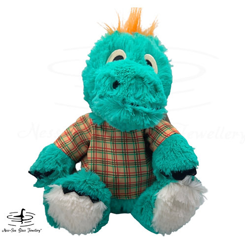 """Exclusive Edition """"Nessie"""" in Tartan Top - 13' Warmies® Large"""