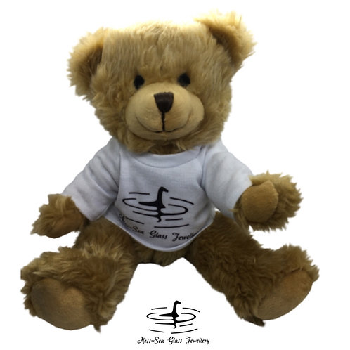 Charles - Ness-Sea Glass Teddy Bear