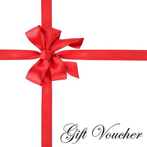 Gift Vouchers - posted