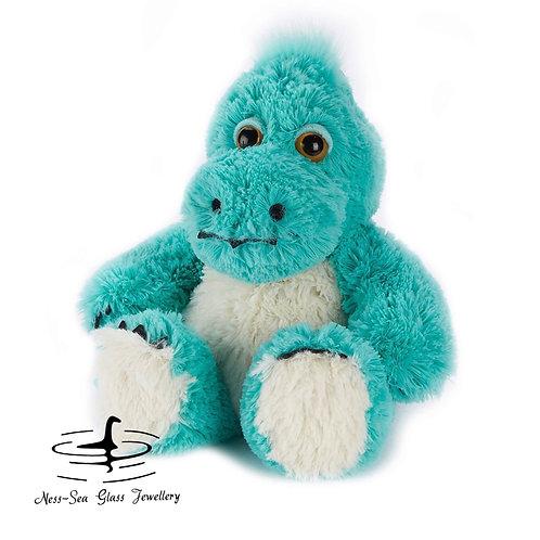 "Turquoise ""Nessie"" Microwavable Dinosaur - 13' Warmies® Large"