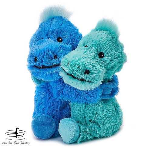 """Nessie and Friend"" - Warm Hugs Microwavable Dinosaurs - 9' Warmies®"