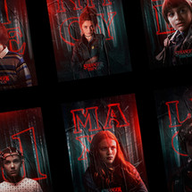 Stranger Things — Character Posters