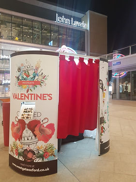 Brand activation photo booth