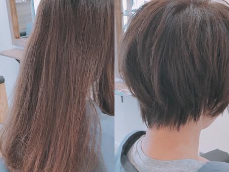 lib hair 町田 『30cm以上切ってイメチェン』
