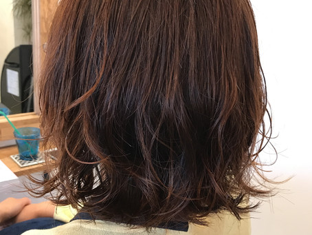 lib hair machida 『手入れが楽なパーマは?』