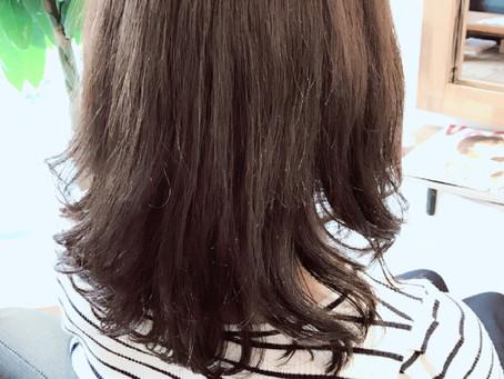 町田 Lib hair 『梅雨=ストレートだけではありません。』