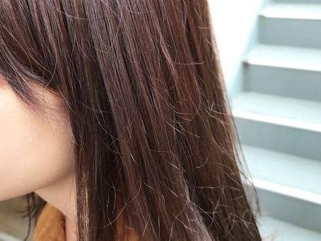 Lib hair 町田 『パープル×グレージュ』