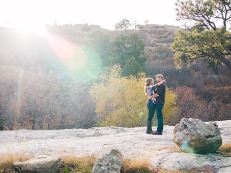 Charity + Chris | Colorado Springs, CO