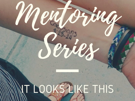 Mentoring Series: It looks like this