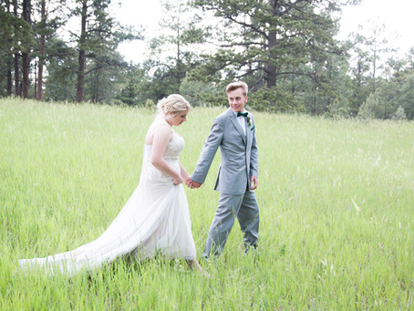 Caitlynn + Atlee | Elbert, CO Wedding