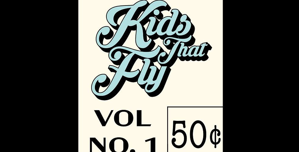 Comic Label Sticker