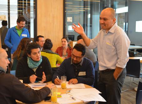 Taller de habilidades de trabajo en equipo en el Design Factory de DUOC UC