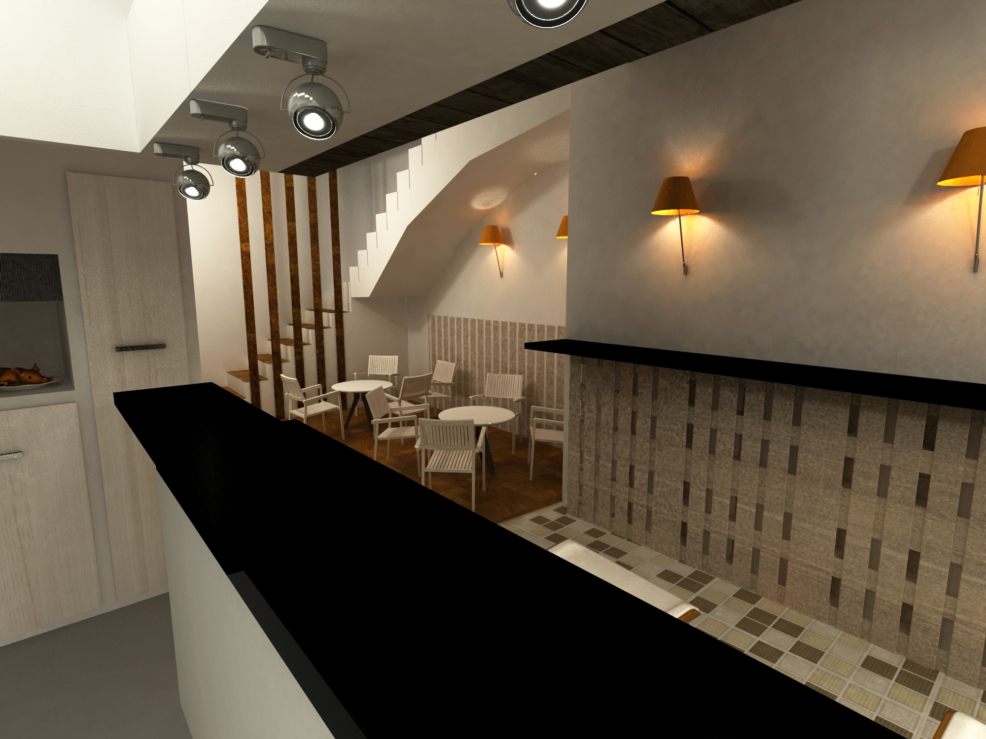 Diseño interiorismo bar