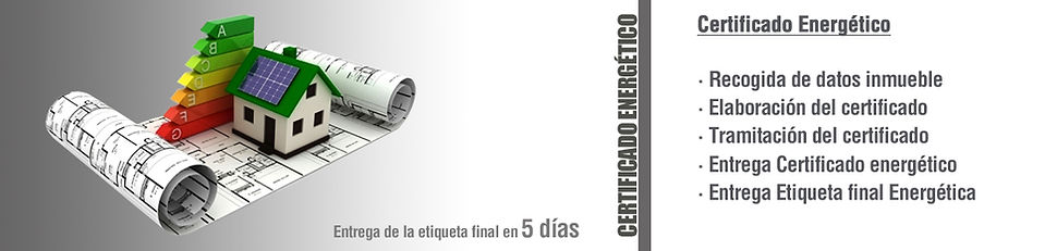 Precio certificado energético, entrega de etiqueta final energética en un plazo de 5 dias. Arquitecte Tarragona.