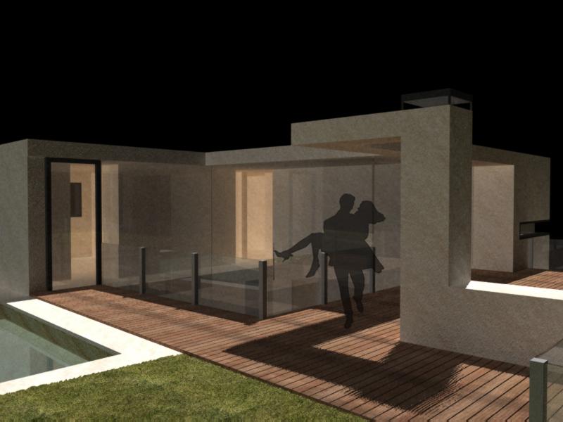 Casa jardin cubierta