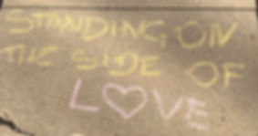 Standing on the Side of Love Chalk.jpg