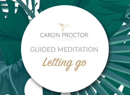 Letting go (guided meditation)