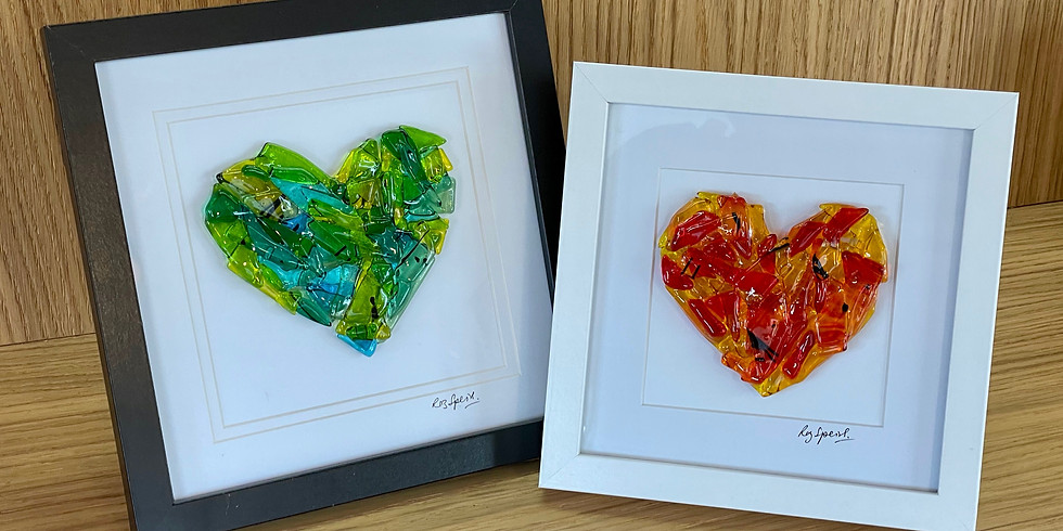 Get creative and give fused glass a go!