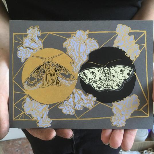 Tropical Goth Prints