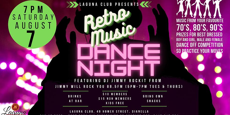 Retro Music Dance Night